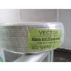 Кабель сигнальный 4*0,22 биметалл неэкранированный Vector