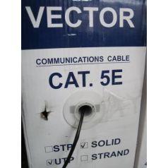 """Кабель Витая пара UTP CAT-5e """"Vector"""" 305 m (Al-Cu 4*2*0,52мм) без экрана наружный"""