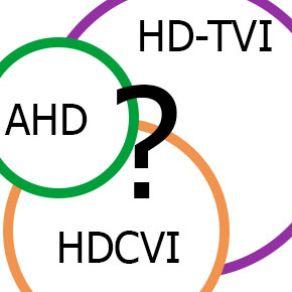 HD-TVI,HDCVI,AHD?